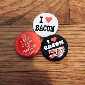 Accessories - Bacon Pin Set